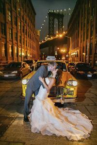 H&M Central Park wedding street night
