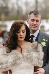 H&M Central Park wedding couple