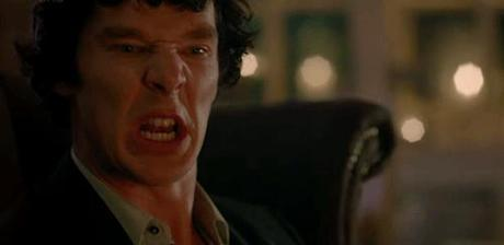 http://now-here-this.timeout.com/2014/01/01/32-emotions-you-will-feel-while-watching-tonights-sherlock-as-told-by-benedict-cumberbatch-gifs/