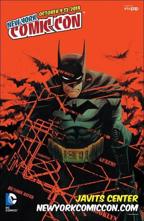Official NYCC 2014 Poster - Batman by Francis Manapul