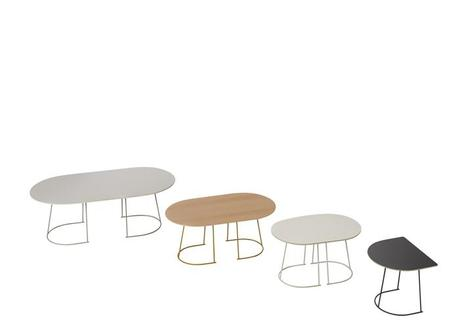 Airy table by Cecilie Manz for Muuto