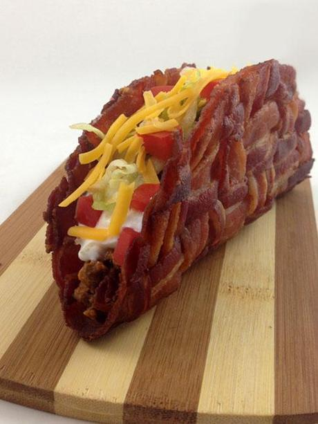 Ridiculous Foods: Bacon Weave Taco