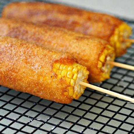 Ridiculous Foods: Batter Fried Corn-on-the-Cob