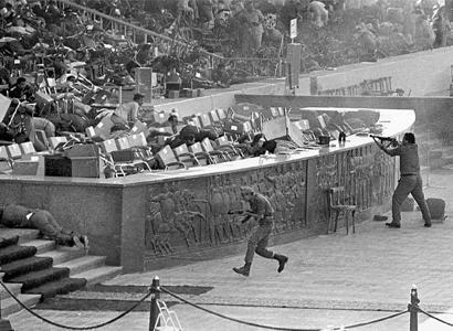 Sadat assasinated on October 6 1981