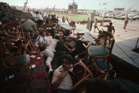 Aftermath of Sadat Assassination