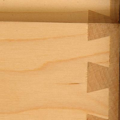 Close Up of Dovetail Joints