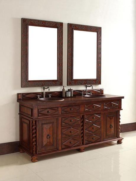 Continental Vanity with Dovetail Drawers
