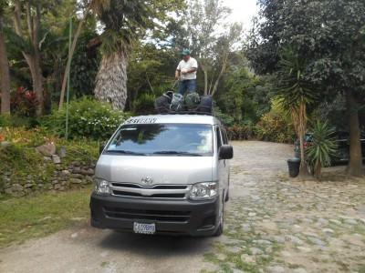 Onward minibus to Antigua was easy to sort and meant avoiding the chicken bus for once!
