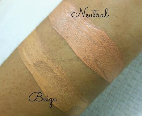 Street Wear Color Rich Perfection Foundation : Review, Swatches, FOTD