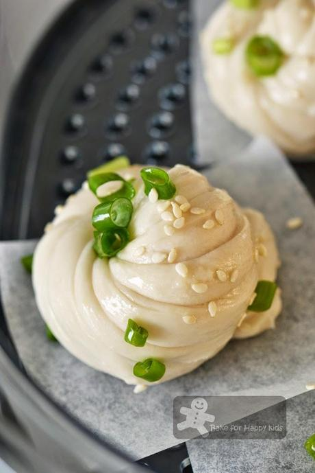Chinese Flower Steamed Buns 花卷