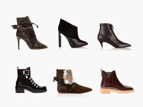 Fall 2014 - The shoe edit