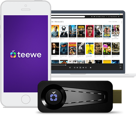 TEEWE HDMI Streaming Media Player Dongle