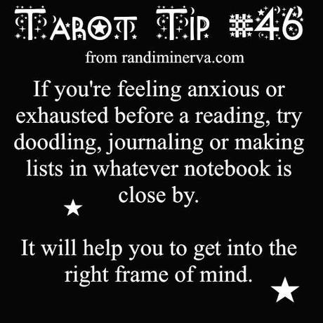 Tarot Tip #46: Get into the Tarot Frame of Mind - Paperblog