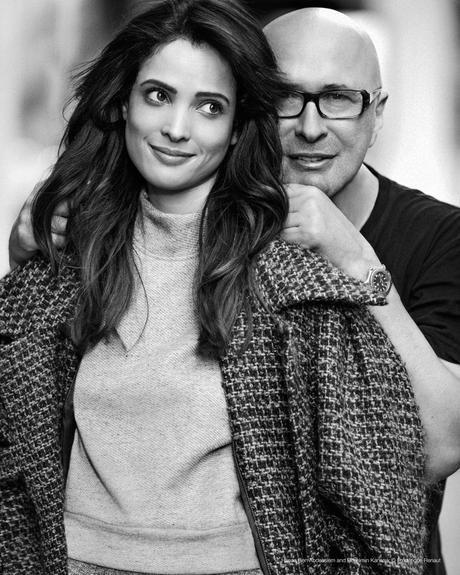 Hanaa Ben Abdesslem and Benjamin Kanarek backstage © Frédérique Renaut