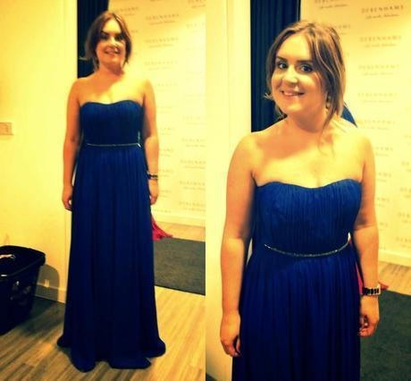 Bridesmaid Dress Personal Shopping at Debenhams