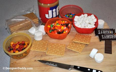 Halloween treats: spooky smores