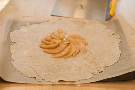 Poached Quince Galette