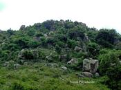 Geology Pithoria Hills Near Ranchi City, India.