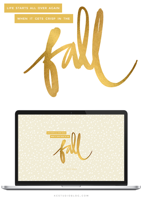 Cute Fall Desktop