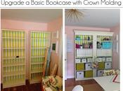 Upgrade Bookcase with Crown Molding
