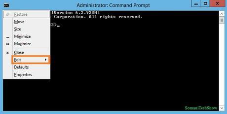 how to use copy paste in command prompt