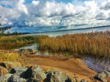 One of the seven beaches found in the seaside city of Vaasa, located on the west coast of Finland.