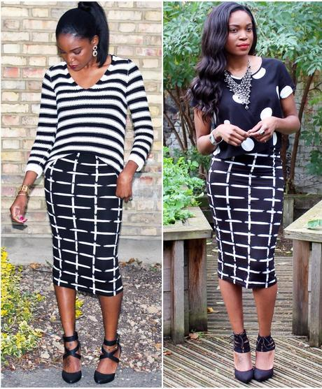 Outfit Ideas: The A|wear Midi Skirt, From Summer To Fall